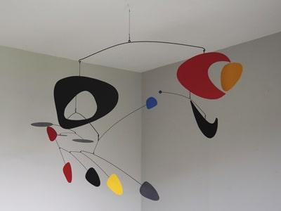 mobile, créations paradox, plafonnier, sculpture, bretagne