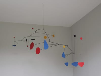 hanging mobile sculpture
