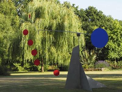 sculpture jardin mobile metal satbil de jardin