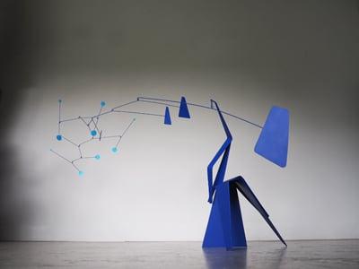 stabiles, mobiles, sculpture, stabile calder, mobile contemporain paradox