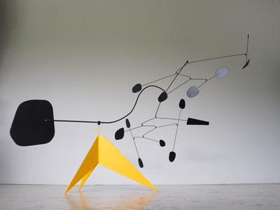 sculpture mobile, stabile mobiles, alexandre calder, satbiles mobiles, deco etsy
