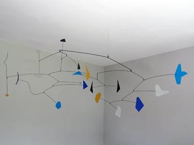 sculpture mobile inspiration de calder de paradox créations