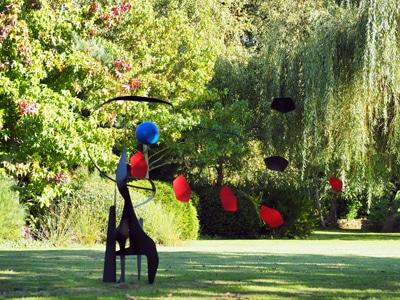 statue de jardin, sculpture moderne