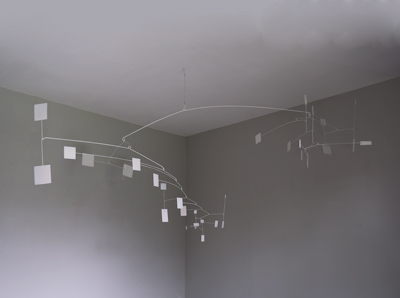 mobile, sculpture de plafond pour appartement moderne